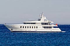 Space Motor Yacht 44.65 m Feadship F45 Vantage, charter yacht built in Kaag, Netherlands, in 2007 by Feadship